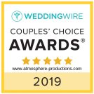 Atmosphere Productions - 2019 WeddingWire Couples' Choice Awards