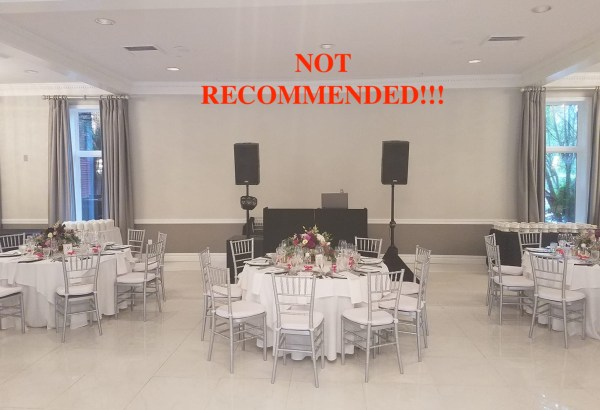 Atmosphere Productions - wedding reception sound