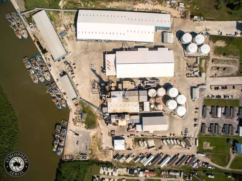 Louisiana stack inspection Industrial drone