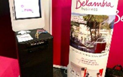 Un salon parfumé pour Belambra Business