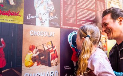 La borne Chocolat de Neuchâtel