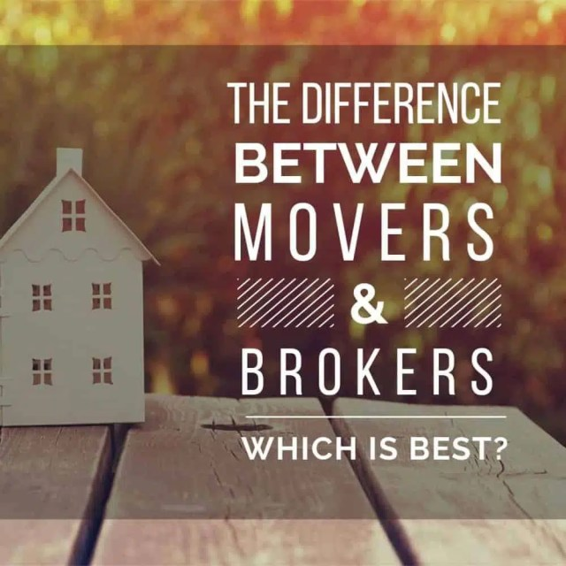 The Difference Between Movers Vs. Brokers, Which Is Best?