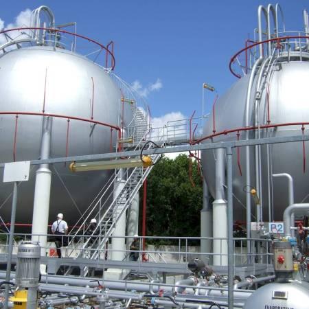 gas site