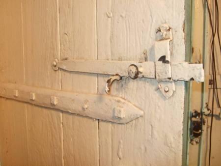 wood door latch