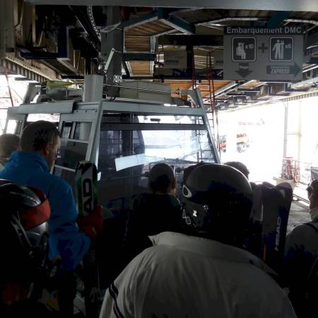 skiing gondola