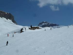 alpin ski slope