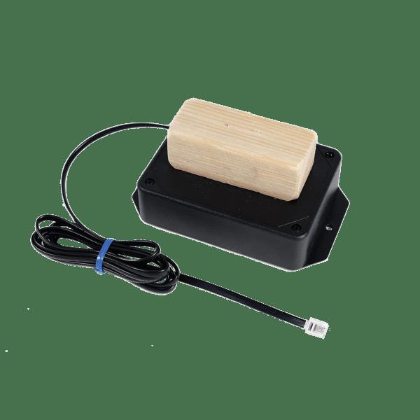 Crawl Space Wood Moisture Sensor with visible alarm