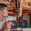 Mounting ATMOX Internal fan for a crawl space
