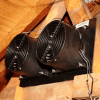 Installed ATMOX Multi Mount Gable Fans on a double plate