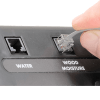 Plugging in the ATMOX Wood Moisture Sensor into the ATMOX Controller