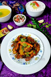 Chicken And Potato Masala Fry / South Indian Chicken Fry / Easy Chicken Fry