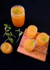 Gingery Aam Panna / Gingery Raw Mango Drink / Aam Panna