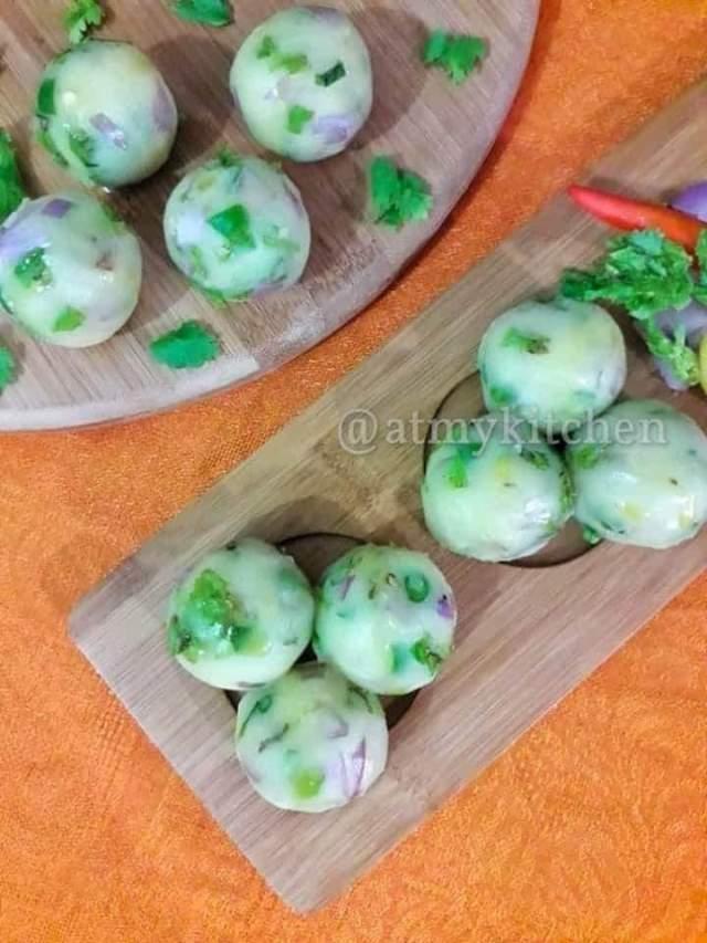 Aloo Pitika / Mashed Potato / Assamese Pitika