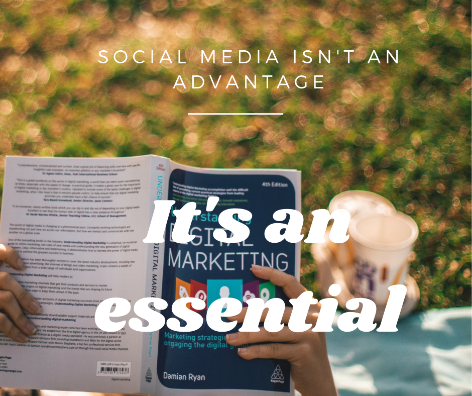 Use social media to sell content
