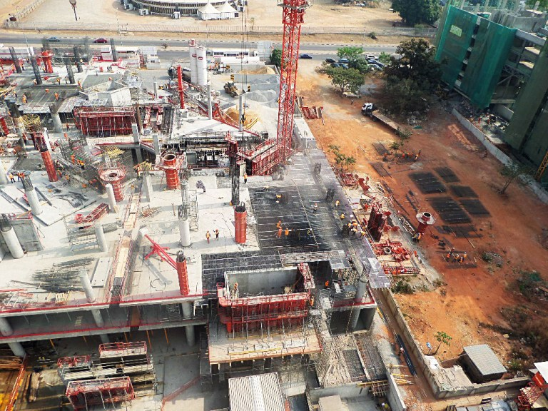 FIRS HQ Updates Aerial Pictures