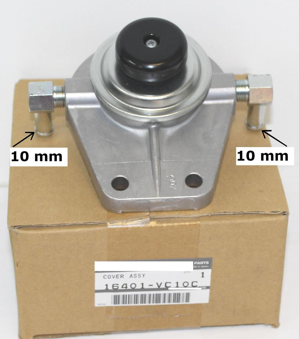 medium resolution of oem genuine fuel filter priming base to fit nissan gu patrol wagon with zd30