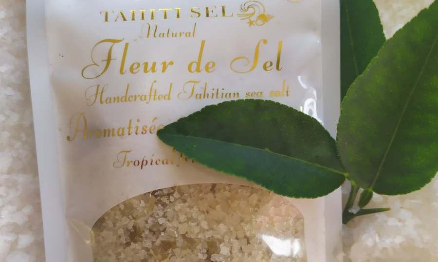 Fleur de sel *infusée au citron*