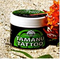Baume Tamanu tatoo