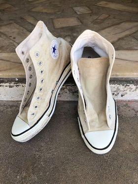 Converse blanche