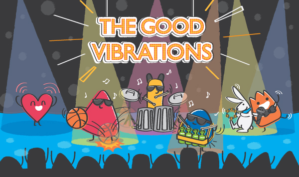 Atom & the Dot | The Good Vibrations | Sound box