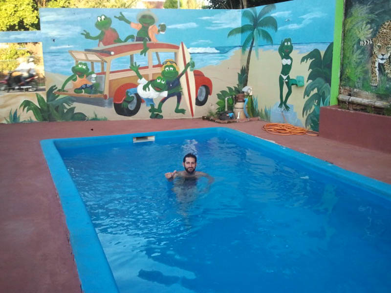 Piscina en el Crazy Summer