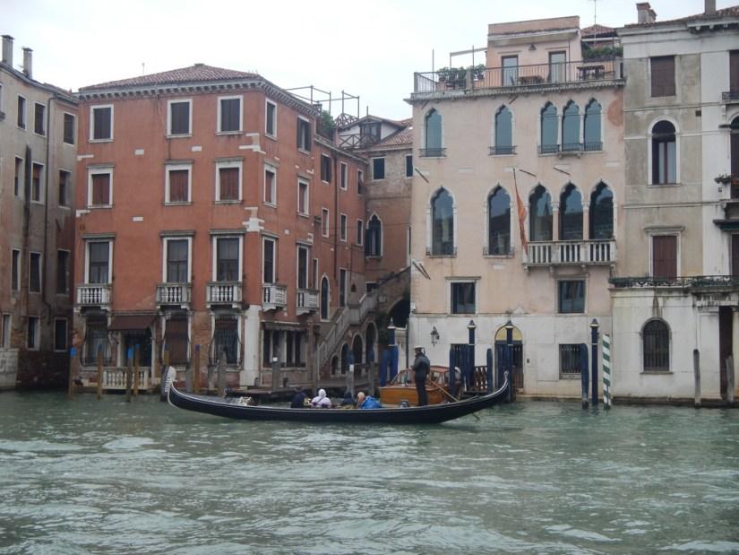 Paseo en gondola por Venecia