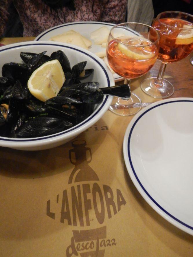 Comer en Padua