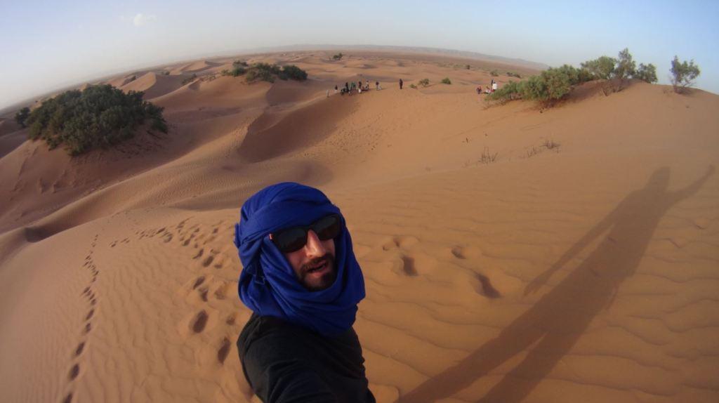 JP en el Desierto del Sahara