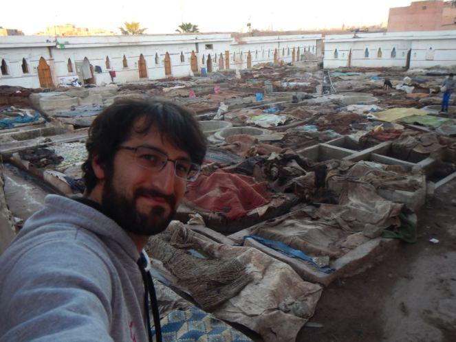 Curtiduría de Marrakech