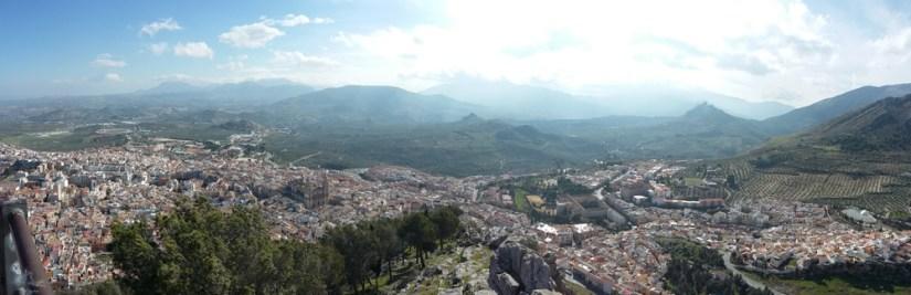 Panoramica de Jaen