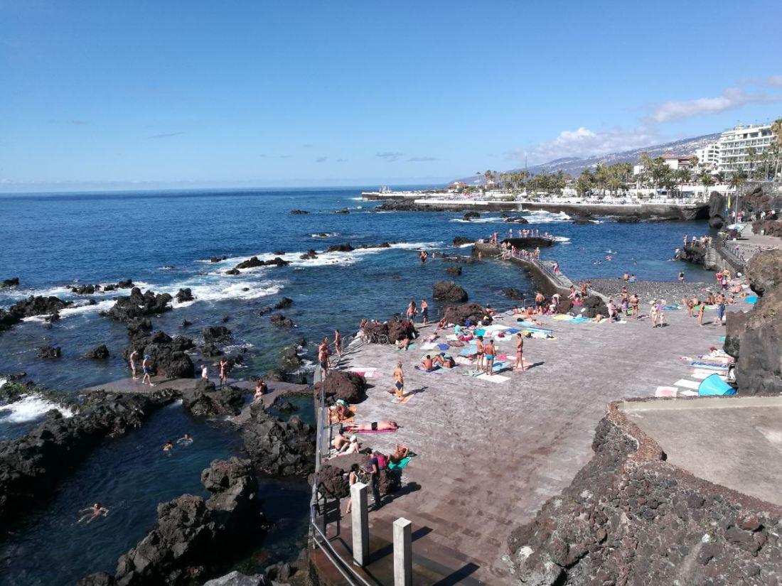Piscinas naturales de Tenerife