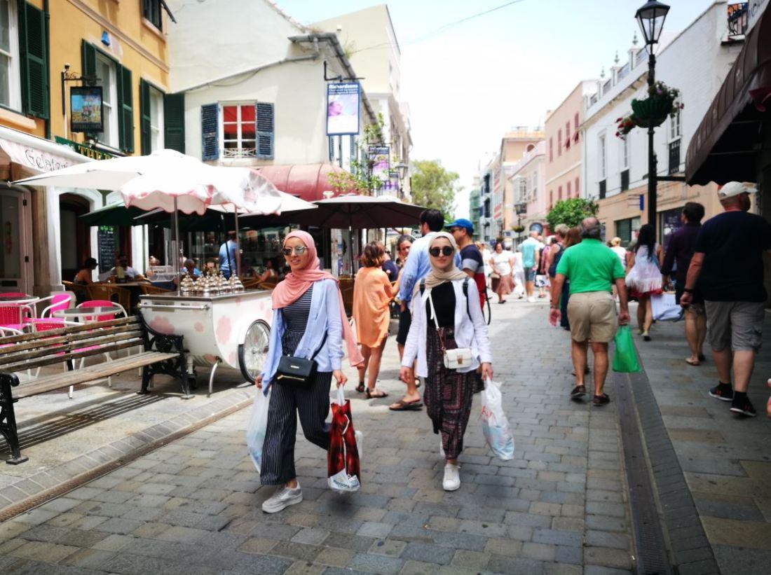 Calle principal de Gibraltar