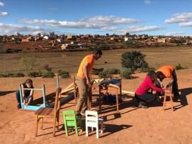 Mejorando los muebles en Yamuna