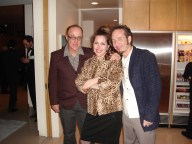 With Artists Jim Cherry and Dale Sizer at the AQ Jones designed Gary Cooper Home in Holmby Hills