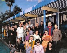 ModCom circa 2000 at El Paradiso Studio City house