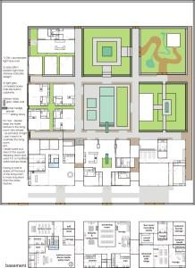 1 Bagua House - Basic Undetailed Plan