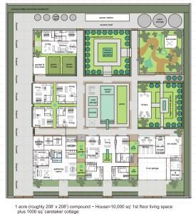 2 Bagua House - Master Plan