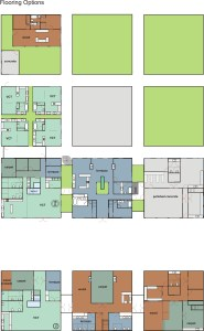 6 Bagua House - Flooring