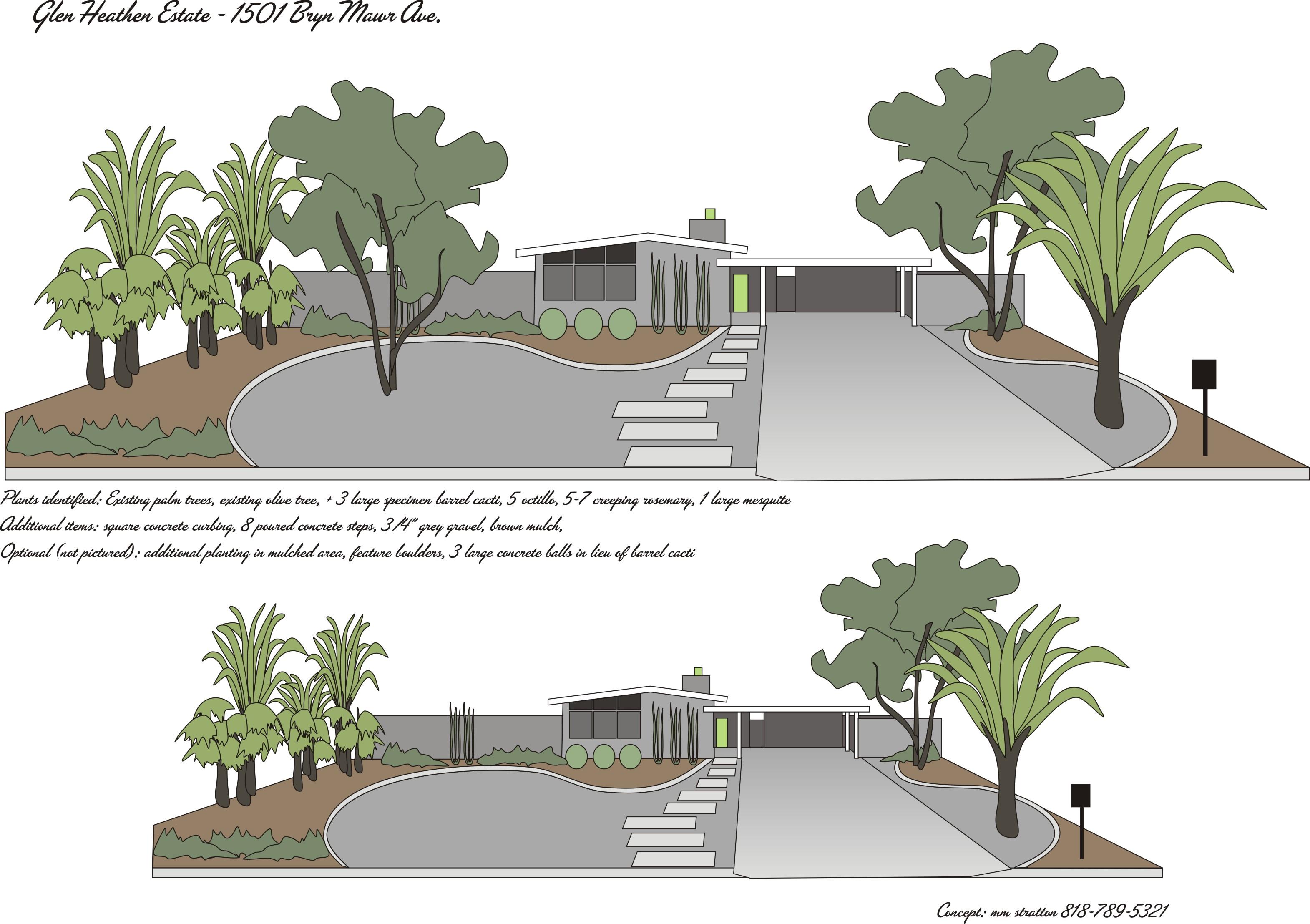 glen heathen estate u2013 landscape plans