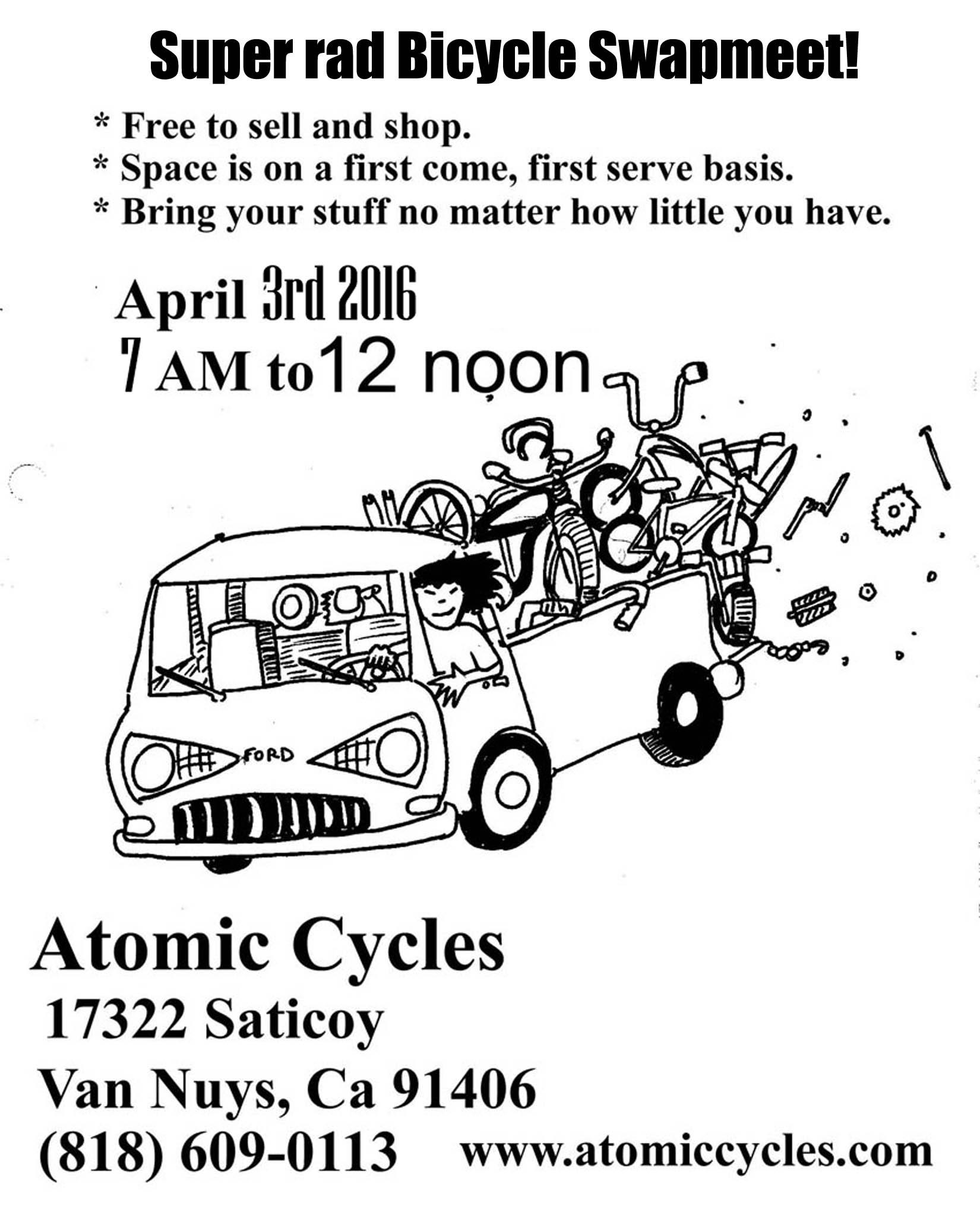 Bicycle Swapmeet 4 3 16