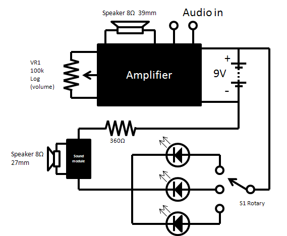 Pip boy 3000 replica prop circuit diagram