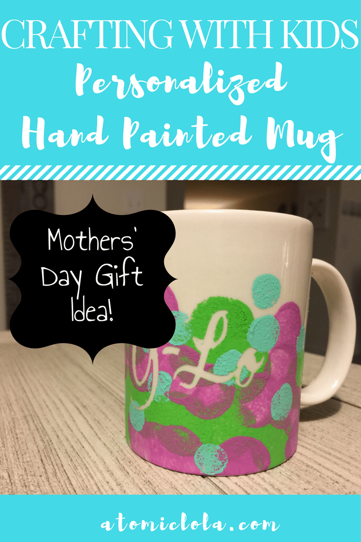 Hand Painted Personalized Mug