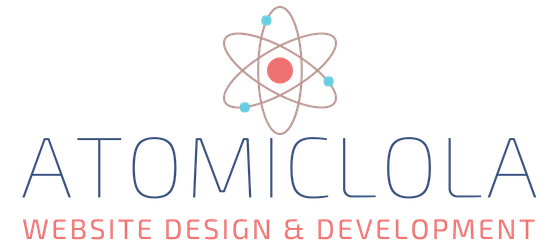 Atomic Lola Website Design