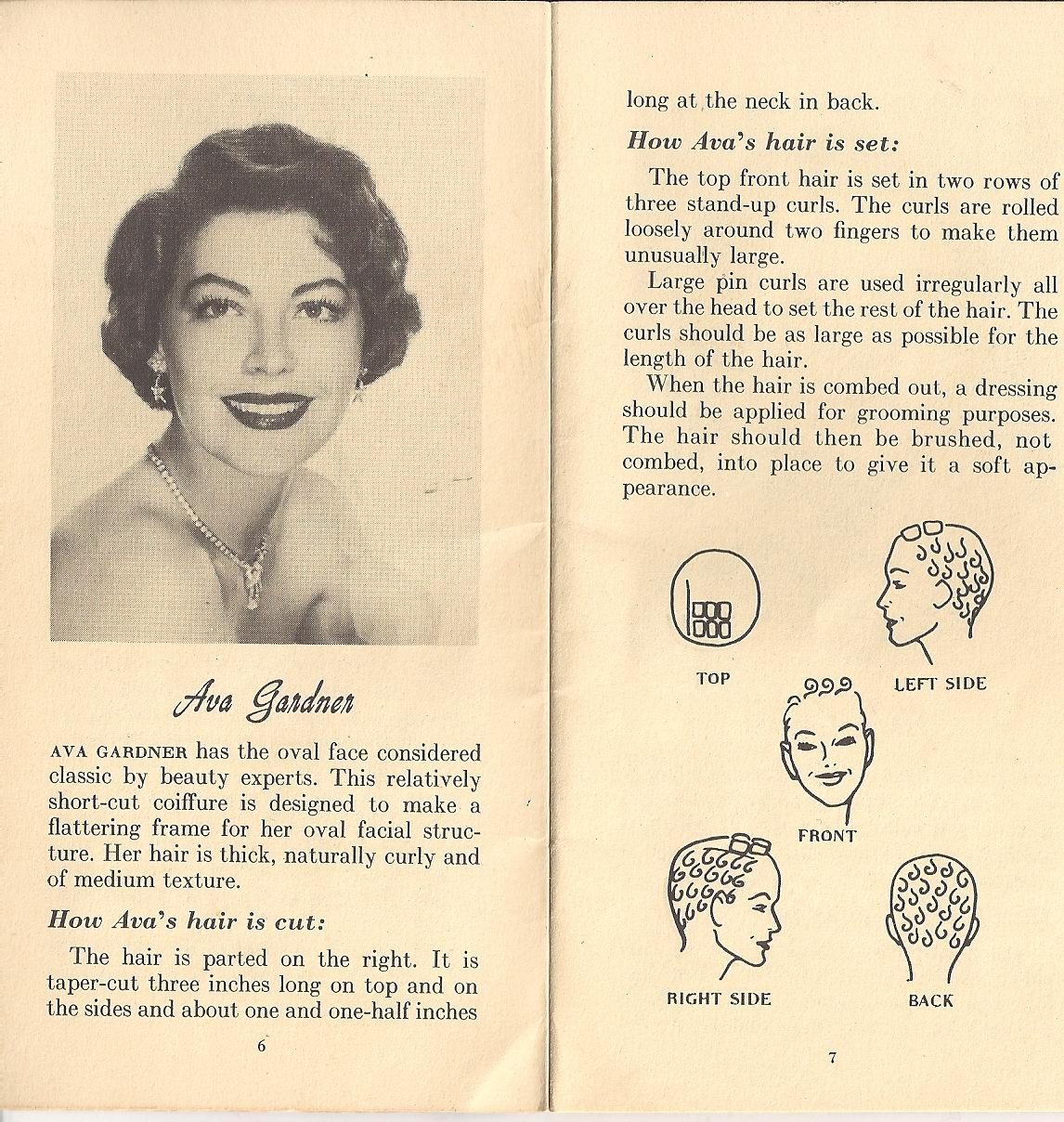 pin curl diagram three phase wiring for house vintage 1940s hairstyles atomic panther 10 hollywood