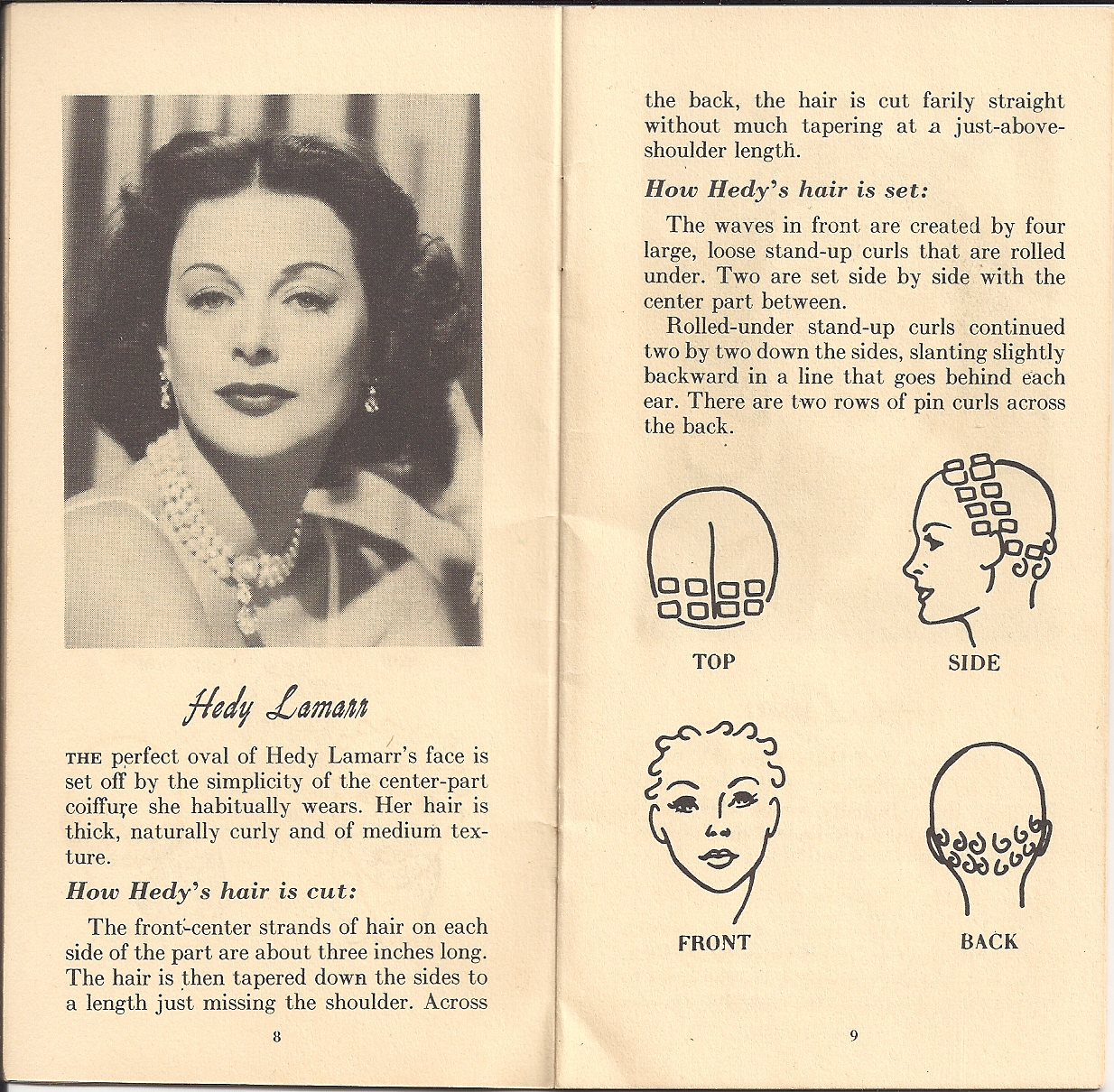 pin curl diagram suzuki eiger 400 carburetor set wiring schema img vintage 1940s hairstyles atomic panther marilyn monroe haircut