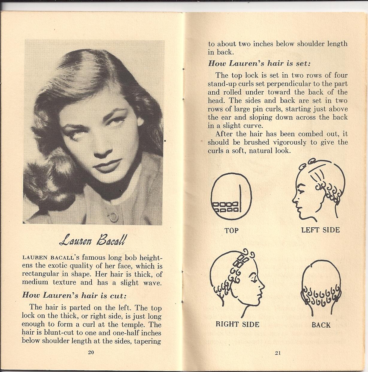 Vintage 1940s Hairstyles ATOMIC PANTHER