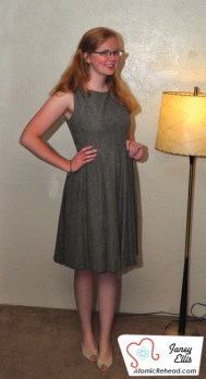 The Girl in the Grey Wool Dress