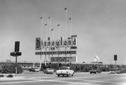 Disneyland welcomes its first guests in 1955