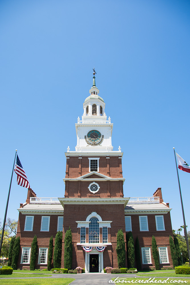A perfect recreation of Independence Hall