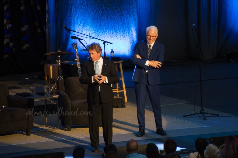 Steve Martin and Martin Short take to the stage